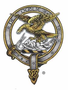 Montrose Graham Clan Crest Scottish Cap Badge